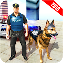 US Police Dog City Crime Mission icon