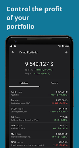 Investment portfolio, stocks, etf, forex, crypto  Paidproapk.com 2
