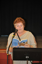 Photo: Heather Stark shares her anthology contribution.