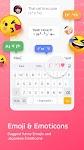 screenshot of Facemoji Emoji Keyboard for Xiaomi - Font & Theme