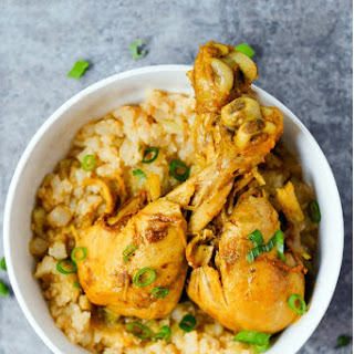 Low Carb Jamaican Curry Chicken.