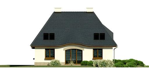 Dom przy Malowniczej 2 - Elewacja lewa