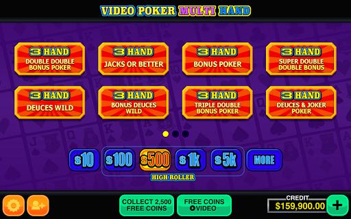 Video Poker Multi Hand Casino 1.2 screenshots 17