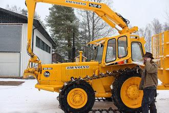 """Photo: Markku Ristavaara ja BM-Volvo SM-661 """"Iso-Nalle"""""""
