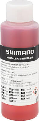 Shimano Mineral Oil Disc Brake Fluid, 100ml alternate image 0