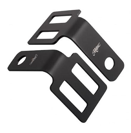 Indicator Brackets - Under Seat Mount - Black