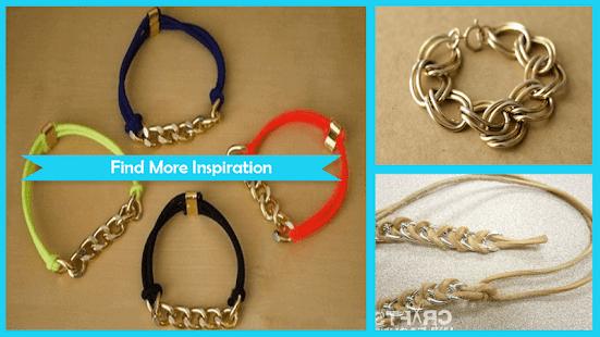 Creative DIY Chain Bracelets - náhled