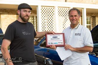 Photo: Colin Doyle wins the Friendship along the road award
