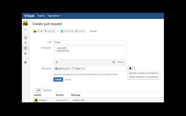 Bitbucket Server Extension