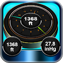 Accurate Altitude measurement icon