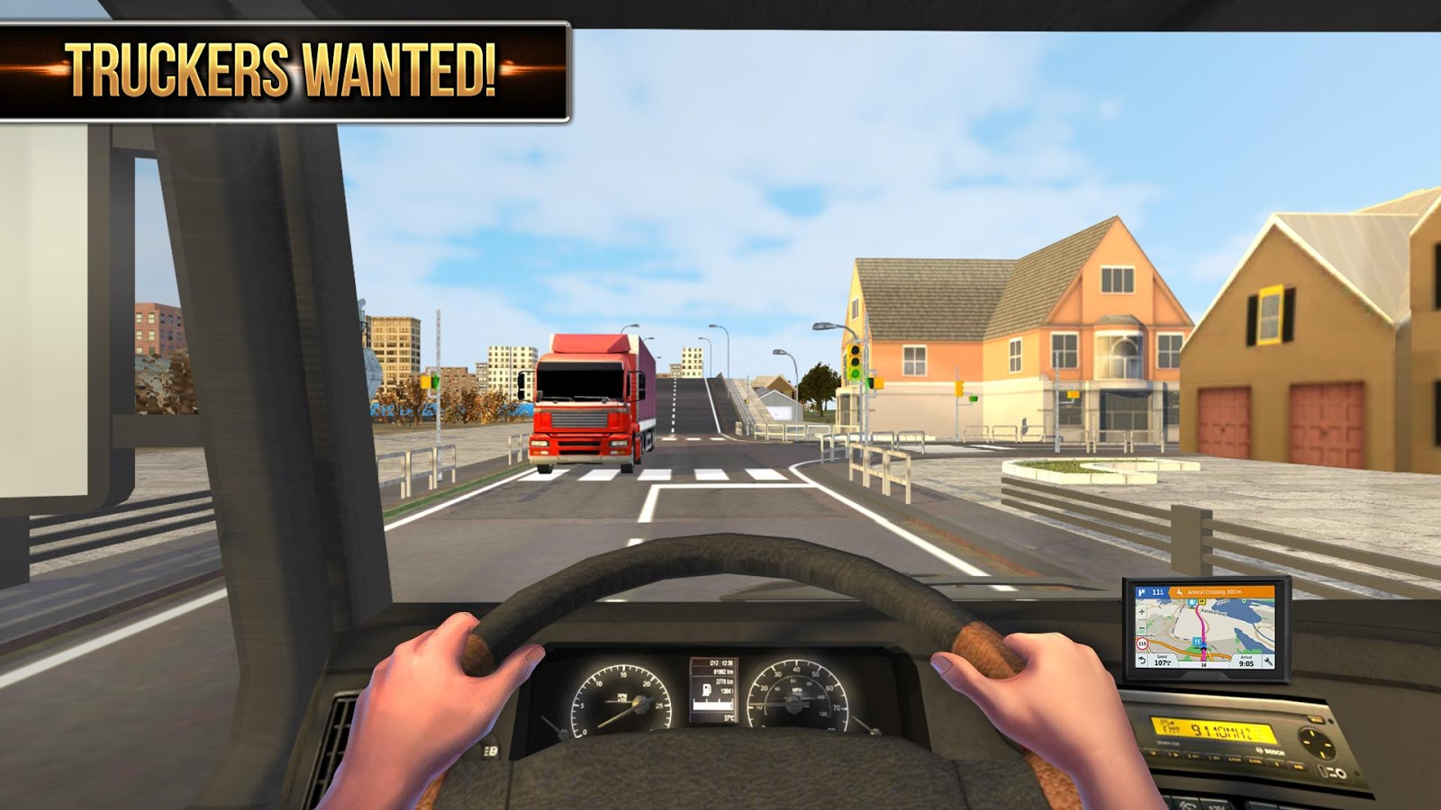 Euro Truck Simulator 2018 : Truckers Wanted- screenshot