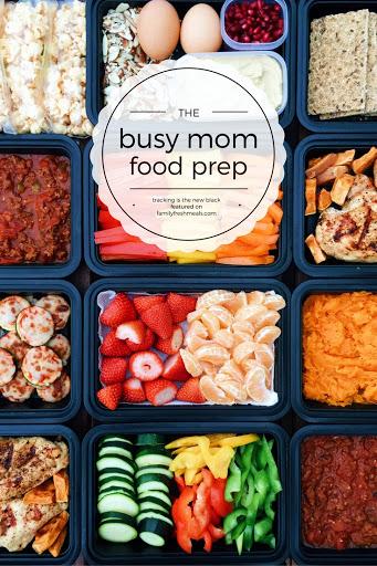 Busy Mom Food Prep