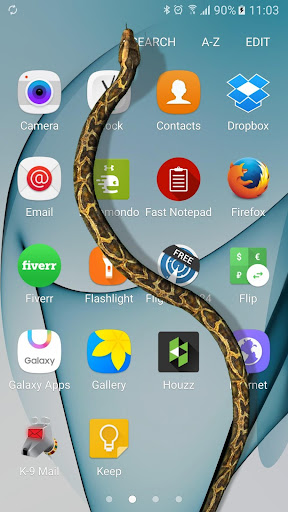 Serpiente en Pantalla de Broma screenshot 1
