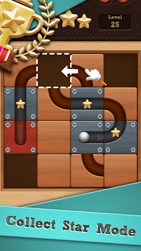 Roll the Ballu00ae - slide puzzle screenshots 1