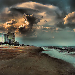 Approaching Storm by Terry Davey - Landscapes Weather ( storm )