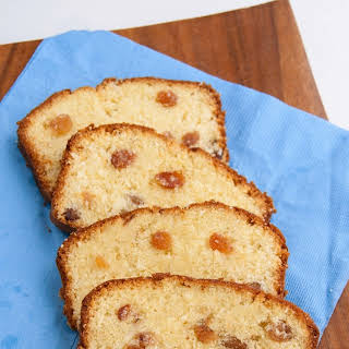 Raisin Pound Cake.