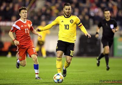 Eden Hazard, bientôt 100 caps et toujours irremplaçable
