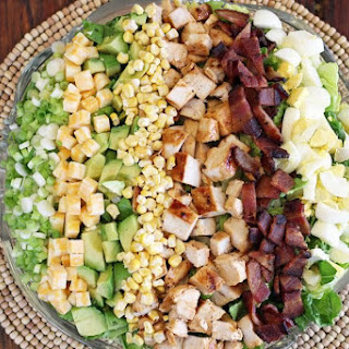Barbecued Chicken Cobb Salad