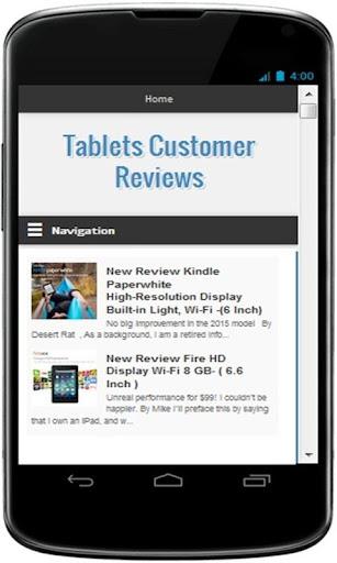 Best Tablets Customer Reviews
