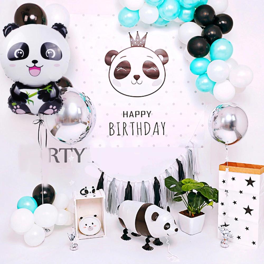 Panda Foil Balloon Jungle Party Decoration