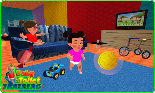 Baby Toilet Training Simulator Screenshot