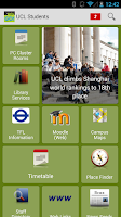 Screenshot of UCL Go! - Student Edition