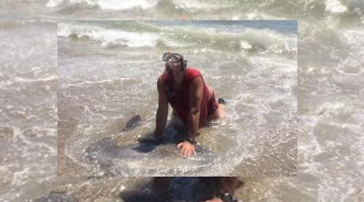 Imagen de archivo del acusado por asfixiar al pez luna.