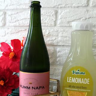Sparkling Rosé Lemonade.