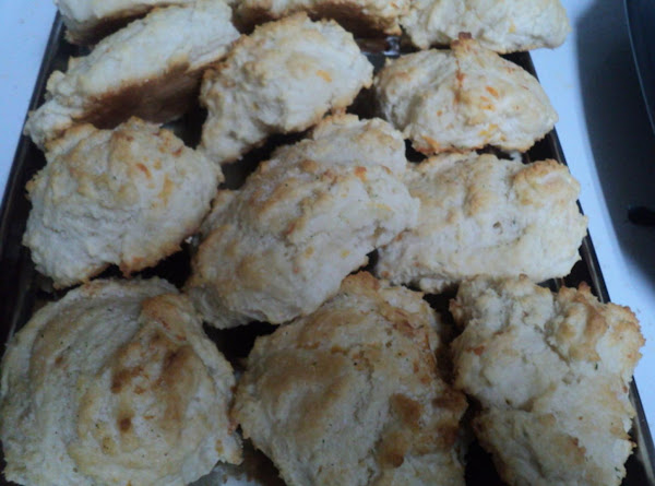 Garlic-cheddar It Gets No Better Biscuits! Recipe