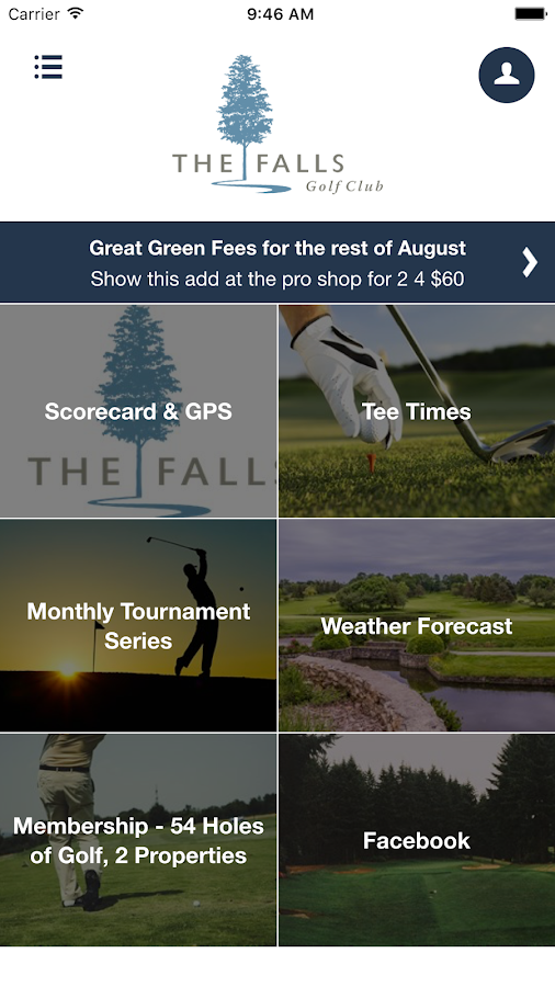 The Falls Golf Club BC- screenshot
