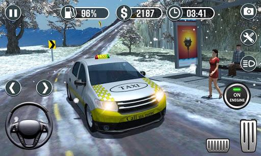 Real Taxi Driver Simulator - Hill Station Sim 3D 1.0 screenshots 2