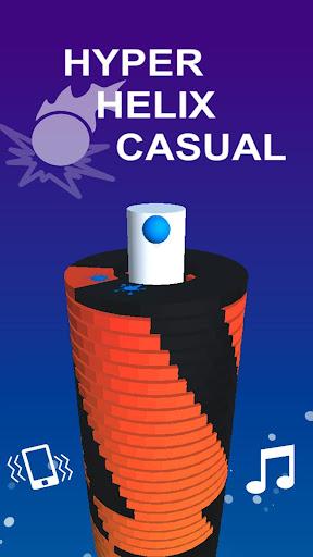 Télécharger Hyper Helix Casual mod apk screenshots 4