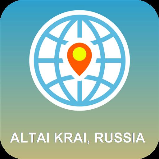 阿爾泰邊疆區,俄羅斯 離線地圖 旅遊 App LOGO-APP開箱王