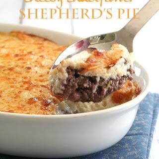 Cheesy Cauliflower Shepherd's Pie.