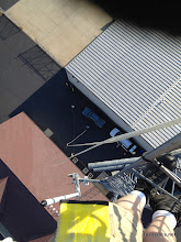Photo: Ground crew from 150ft up