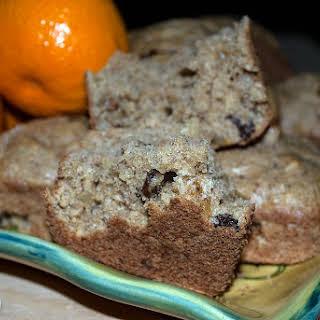 Apricot and Raisin Muffins.