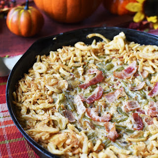 Caramelized Onion and Bacon Green Bean Casserole Recipe