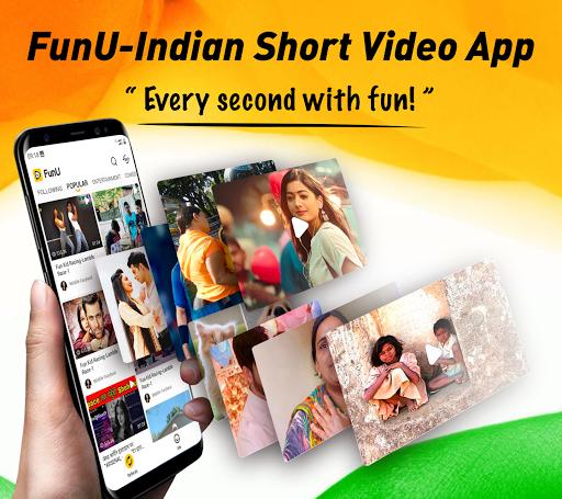 FunU- Indian Short Video App, Best Videos for You 1.0.28 screenshots 1