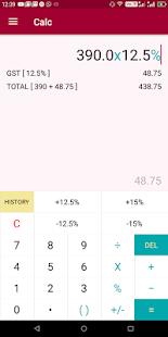 New Zealand Gst Calc,Calculator,Gst Bill Generator - náhled