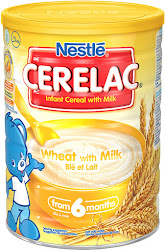 Cerelac Wheat with Milk Infant Cereal 6m+ - 1kg