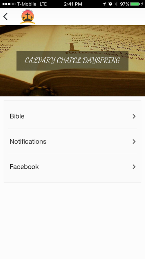 Calvary Chapel Dayspring- screenshot