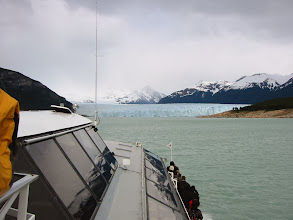 Photo: Boat tour of south face