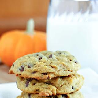Chewy Pumpkin Chocolate Chip Cookies Recipe