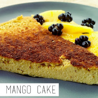 Paleo Mango Cake