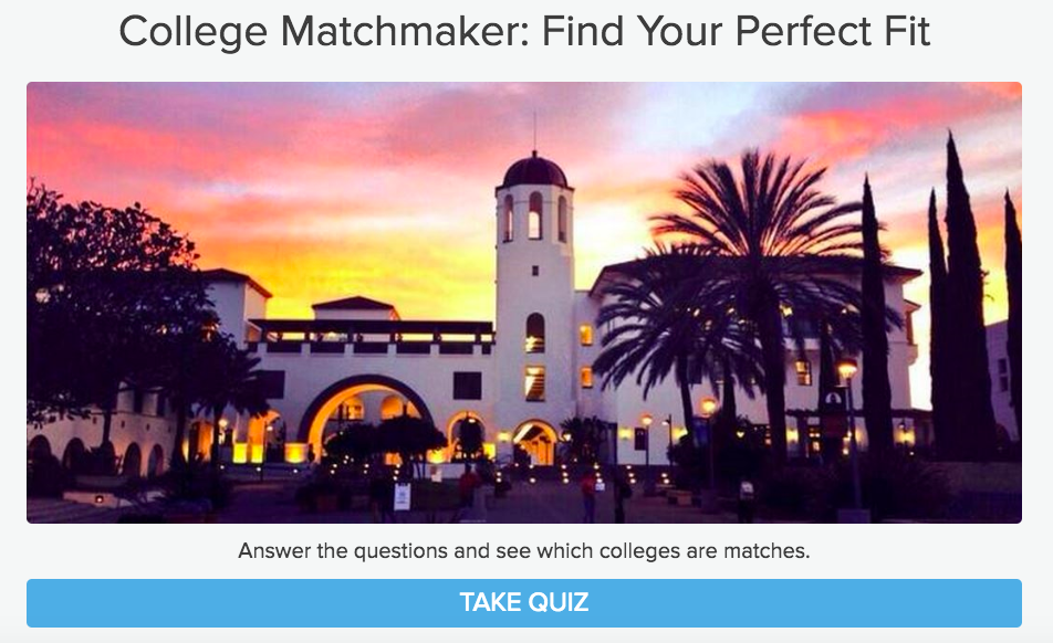 Matchmaking quizzes personality