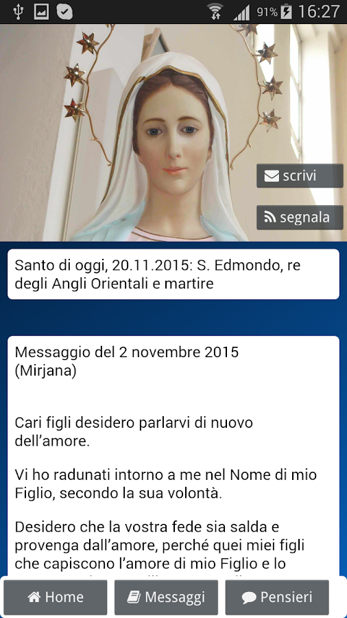 Maria a Medjugorje- screenshot