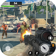Zombie Hunter Dead Target Shooting King 3D