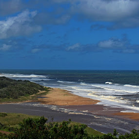 by Nico Ebersohn - Landscapes Beaches ( waves, seascape, railroad, river, trees,  )