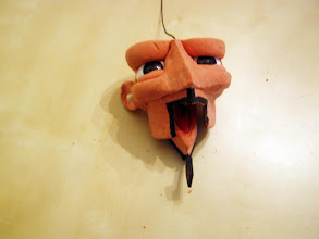 Photo: I will also paint in teeth at some point.