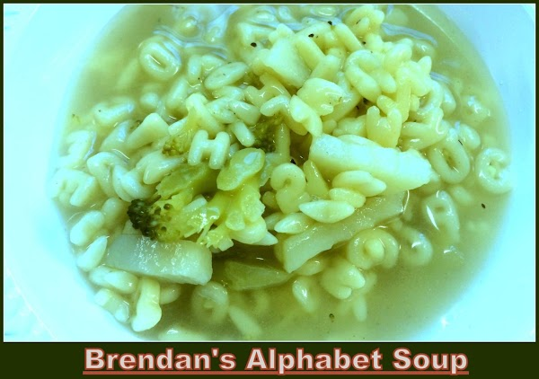 Add your veggies to the hot broth, seasonings and your noodles. Cook on a...